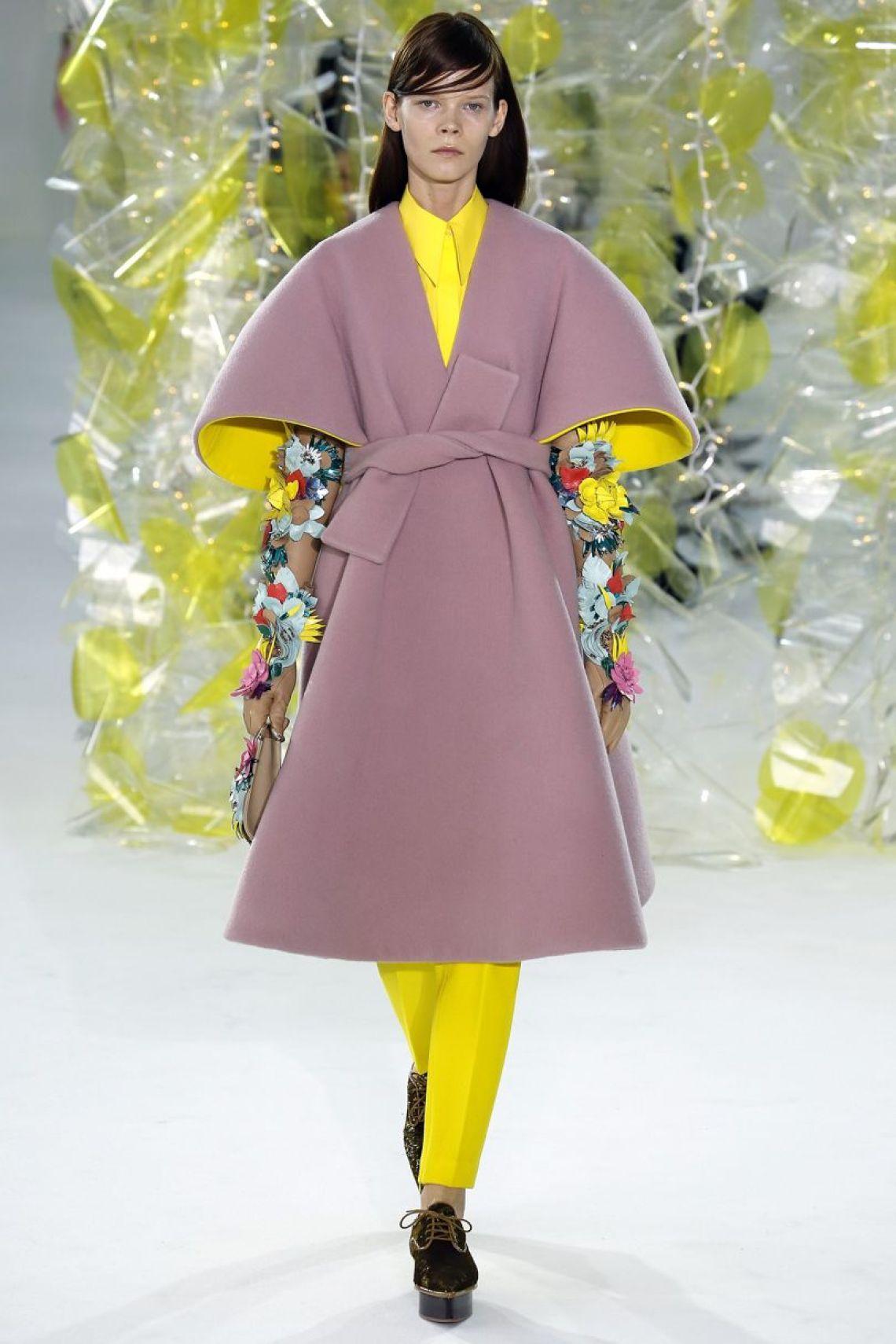 Vogue Delpozo volume coat