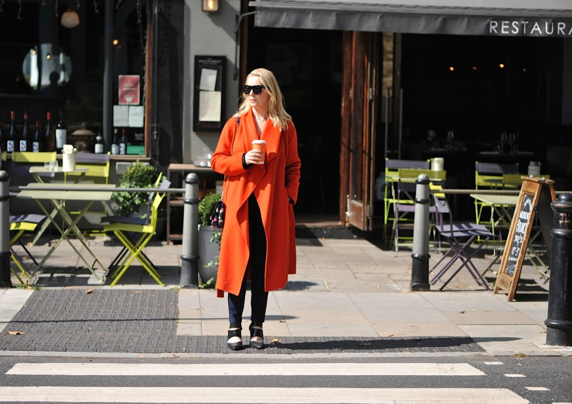 Sunshine coffe and Hobbs Odelia coat
