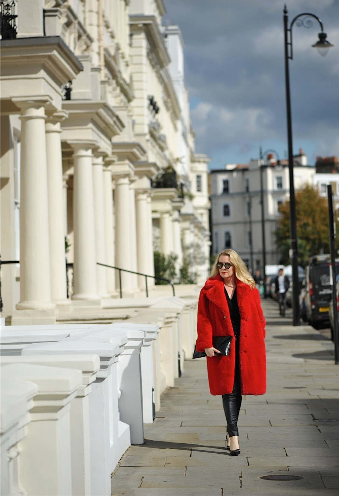 Notting Hill red coat