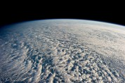 Water vapor. NASA- Clouds as seen from the ISS