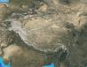 Satellite image of the Himalayas