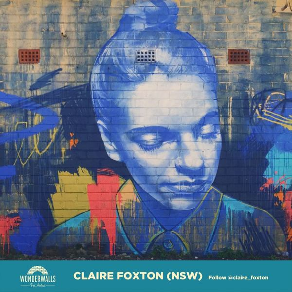 Wonderwalls-Festival-2017-street-artist-New-South-Wales-Claire-Foxton