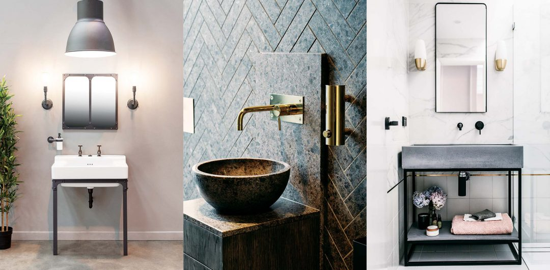industrial style basins for a super