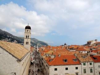 Dubrovnik terracotta rooftops