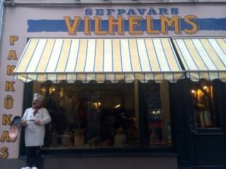 Šefpavārs Vilhelms, Old Town, Riga