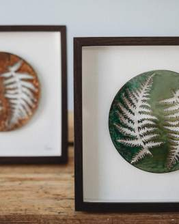 Ashleigh Proud dual fern prints