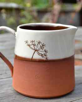 Wendy Calder Cow Parsley Ceramic Milk Jug