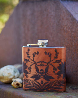botanical hip flask