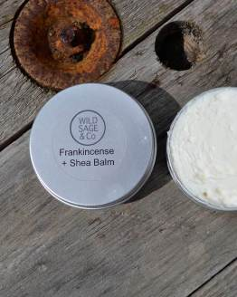 frankincense shea body balm
