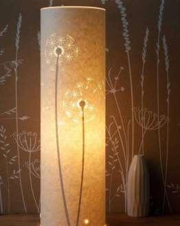 tall dandelion lamp