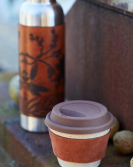 travel coffee cup front