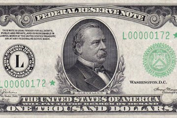 Grover Cleveland $1,000 bill