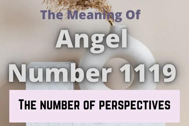 angel number 1119