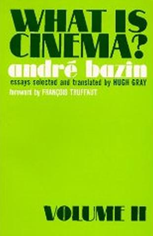 What is Cinema - Volume 2