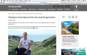 Getting to Know Akaroa from the Seventh Generation