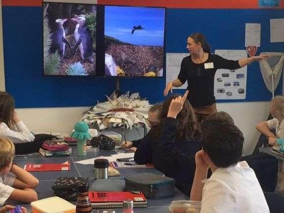 Sharing the magic, stories of abundance on Campbell Island, at Akaroa Area School.