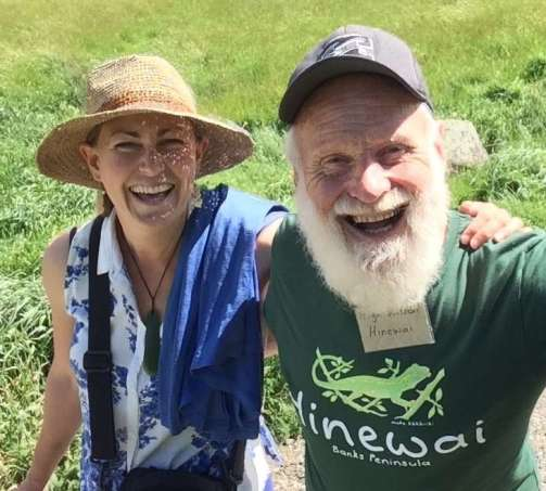 Hinewai Reserve Hugh Wilson and Marie Haley