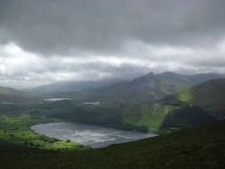 Llyn Cwellyn in Snowdonia National Park