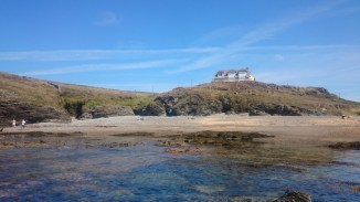 Lon Isallt Bay (AKA Porth y Corwgl?).