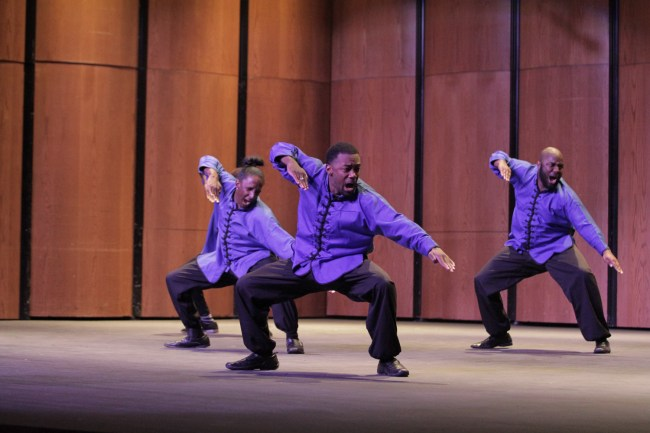Performers at the Step Show