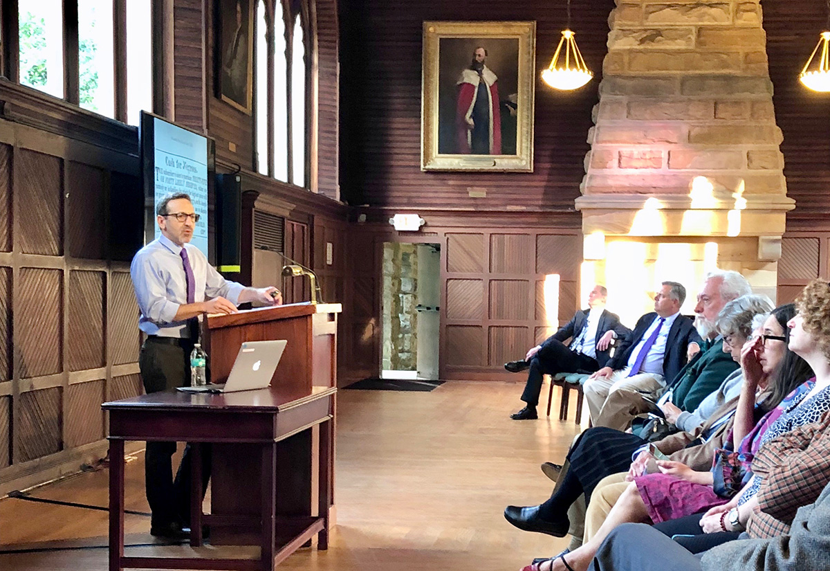 Alabama professor lectures on legacy of slave-trader John Armfield