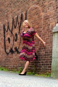 Jenny Casmerette Wrap Dress