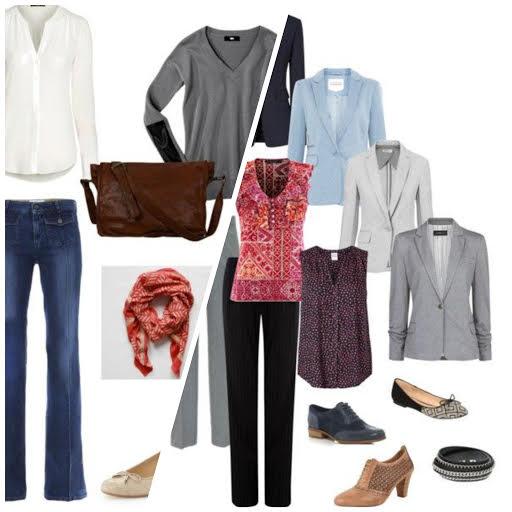 wardrobe architect collage