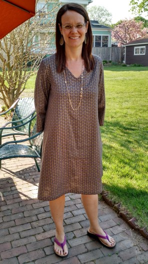 Tunic Dress with Lace