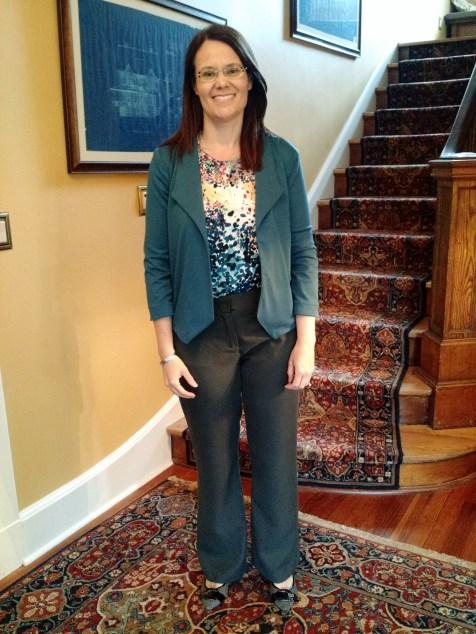 Simplicity 1202 blouse and Grainline Studios' Morris blazer