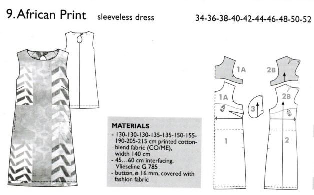 pattern information in the Ottobre magazine