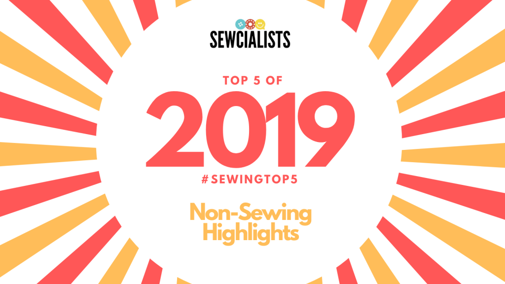 Sewing Top 5 of 2019
