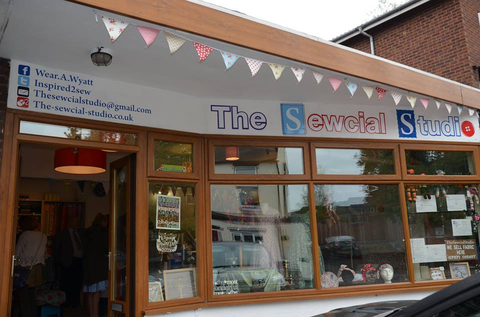 The sewcial studio Tamworth Store gallery