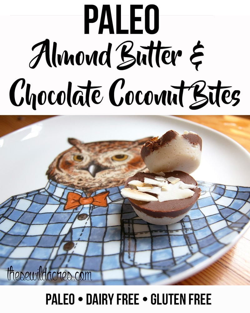 Paleo Almond Butter Chocolate Coconut Cups