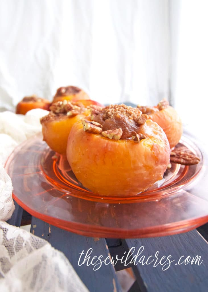 Paleo Peach Crisp Recipe in the Instant Pot