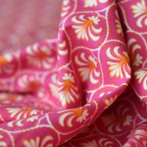Fleur de lisse roze