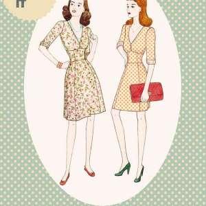 1940's Tea dress