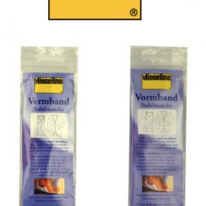Vormband vlieseline 12 mm ZWART