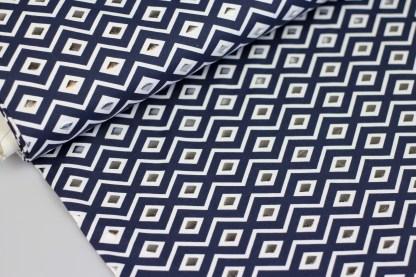Grafische badpak stof