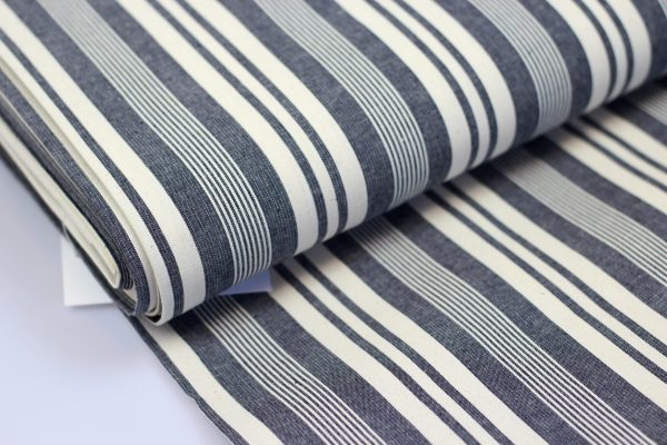 Raw denim stripes