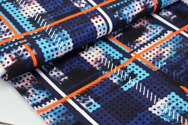vibrant viscose tricot voor tshirts en jurken