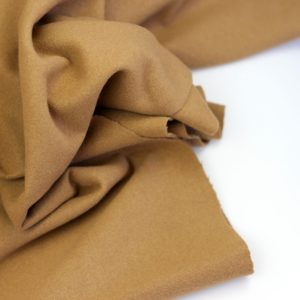 Softcoat Camel- mantelstof coupon 1m20