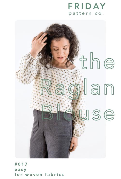 The Raglan blouse