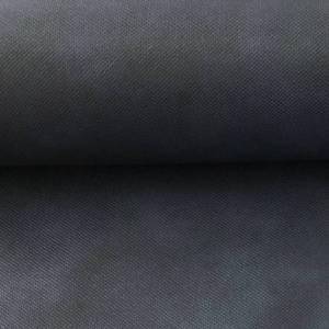 Marine blauw kunstleder- tassenstof