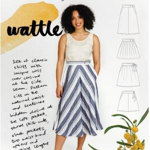 Wattle rok- Megan nielsen patterns