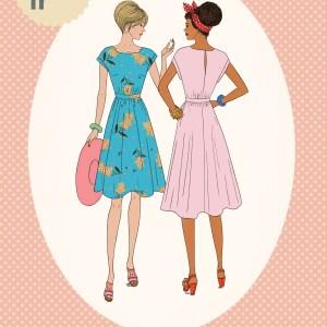 Margueritte jurk
