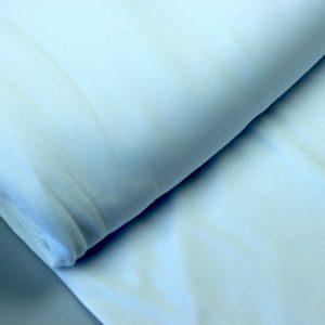 White – tricot piqué