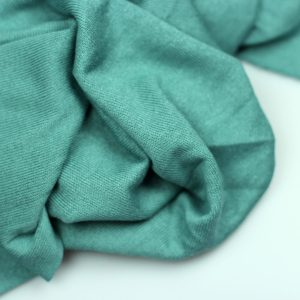 Blue green- viscose tricot