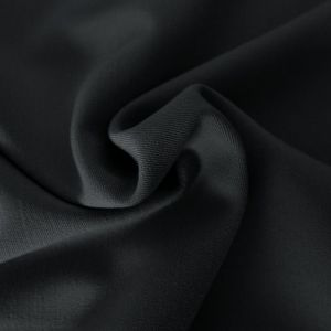 Classy black- gabardine