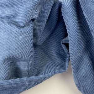 Grey Blue- Washed Ribfluweel Corduroy