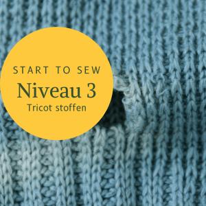 Start to sew NIVEAU 3:  4x di avond vanaf 3 nov